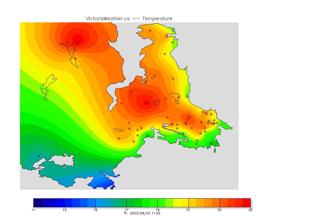 School-Based Weather Station Network - Victoria, British